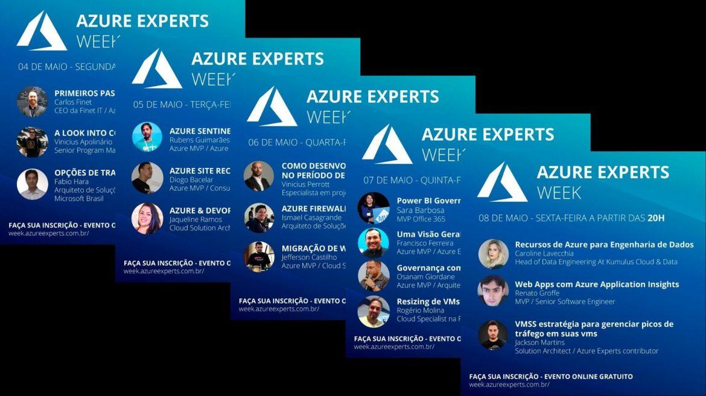 Tá Na Nuvem 114 - Evento GRATUITO Azure Experts