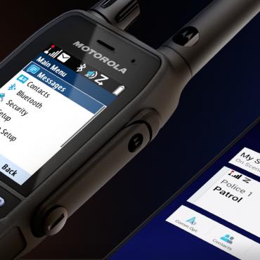 Motorola Solutions MXP600 TETRA proporciona uma versatilidade incomparável aos profissionais da linha da frente