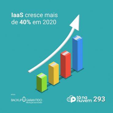 Backup Garantido Tá Na Nuvem 293 - IaaS cresce mais de 40% em 2020 e isso é um novo problema